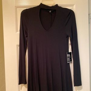 Express Size XS Dress Long Sleeve Turtleneck NWT